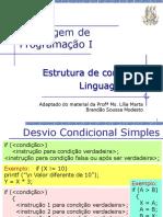 Aula 04 - Estrutura de Controle - Linguagem C (2)