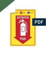 Placa Extintor 02