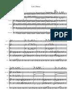 David Bowie Lets Dance OB - Partitura Completa