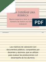 Para diseñar una rúbrica.pdf