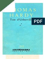 Thomas Hardy - Tess d'Urberville Vol1(v1.0)