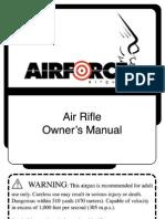 Airforce Airgun ManuaL