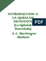 Introduccion Kabala