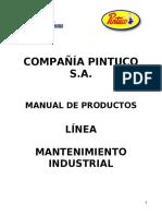 Manual de productos- pintuco linea industrial