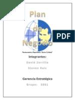 Plan de Negocio - Proyecto 2