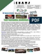 34 PERSONAS CAM CORAZÓN DE JESUS SIN TRANSPORTE $15.000 Rancho El Establo Adulto Mayor 2019