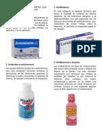 5 Tipos de Medicinas Quimicas Que Enermedades Cura