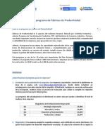 Bases de Fabricas de Productividad Pagina Web