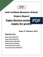 Macro Eco - Service Sector
