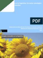 Energías Renovables en La Argentina.un Sector Estratégico