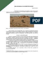 Panorama Mundial Da Desertificacao