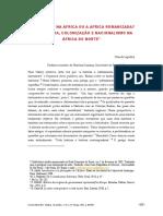 31 - Os Romanos Na Africa Ou a Africa Romanizada. Arqueologia Colonização e Nacionalismo Na Africa Do Norte