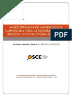 Bases Estandar as Consultoría en General