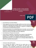 FORMULACIÓN PROYECTOS - EXAMEN