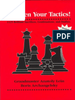 Sharpen Your Tactics - 1125 Brilliant Sacrifices, Combinations, and Studies.pdf