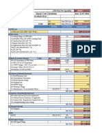 Import Cost Calculation File No 2