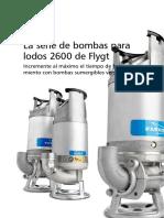 4.1 Bombas Flygt Serie 2600 Para Lodos