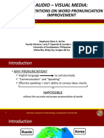 Action Research Presentation Format