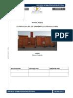 Informe Técnico Subestacion Movil Nº1 Mina Sulfuros