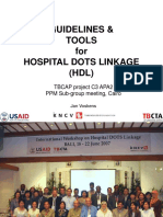 Guidelines and 1tools for Implementing Hospital Dots Linkage (1)