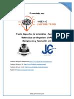 Solución Prueba Específica de Matemática - Temario 41.pdf