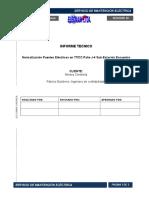 Informe Técnico Cambio de Puentes Se 220kv Encuentro