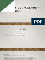 Tipos de Empresa y Empresa