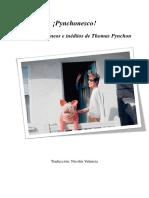 ¡Pynchonesco! Textos inéditos y miscelaneos de Thomas Pynchon
