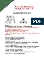 13845438 Controls Tips Tricks Manual for FIFA 07 08