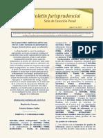 Boletin Jurisprudencial 2019-07-18