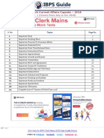 GK Power Capsule for IBPS Clerk Mains 2018 Free Download-Here Www.ibpsguide.com