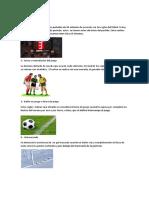 15 Reglas Del Futbol, Posiciion de Cada Jugador