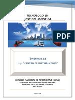 Evidencia 2.5 Centro de Distribución