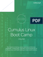 Cumulus Linux BootCamp