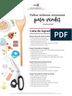 LM - Palhas Italianas Artesanais Para Vender
