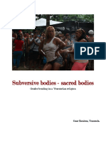 Subervise Bodies in Venezuela