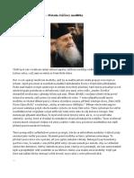 Archimandrita Sofronij – Metoda Ježíšovy Modlitby