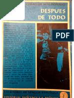1. Después de Todo. José Ceballos Maldonado