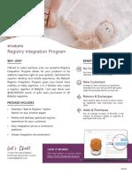 WeLove Registry Integration