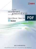 IDEC Pentra PLC Manual