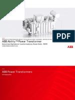 Soluciones Digitales en Transformadores
