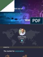 Winshuttle RPA SAPPHIRE 2019 Presentation En