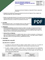 10.3 Dop12 Protocolo en Instalaciones Sector Publico
