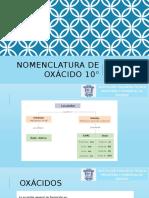 OXACIDOS