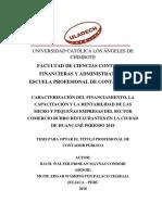 Financiamiento Capacitacion Rentabilidad Maynas Condori Walter Froilan[1]