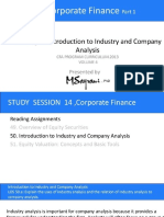 587524ff4533fb75c19707de43ac0374 Introduction to Industry and Company Analysis