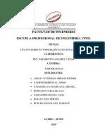 Informe Del Autocad Civil 3d