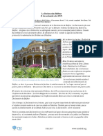 Declaracioěn de Balfour Spanish