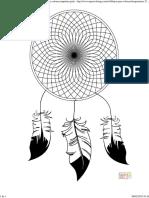 Dibujo de Atrapasueños Para Colorear 2_ Dibujos Para Colorear Imprimir Gratis