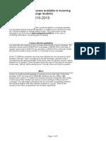 TU Delft English Courselist Sept 2018